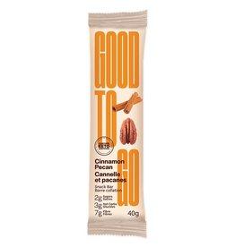 Good To Go Good To Go - Keto Bar, Cinnamon Pecan (40g)