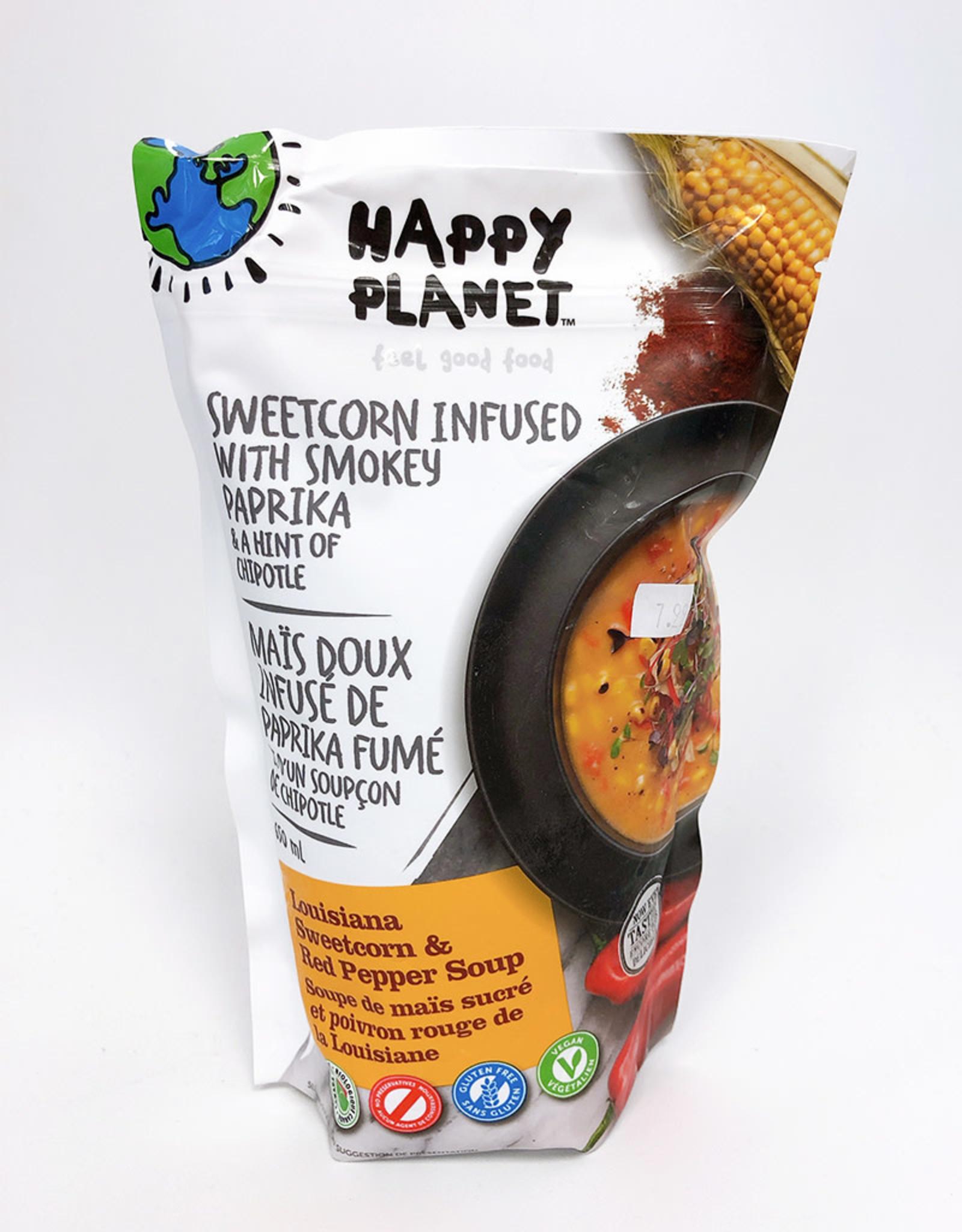 Happy Planet Happy Planet - Soup, Louisiana Sweetcorn & Red Pepper (650ml)