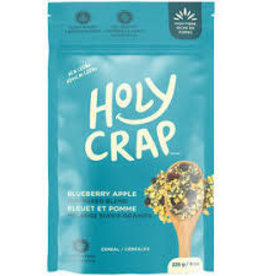 Holy Crap Cereal Holy Crap - Breakfast Cereal, Blueberry Apple (225g)