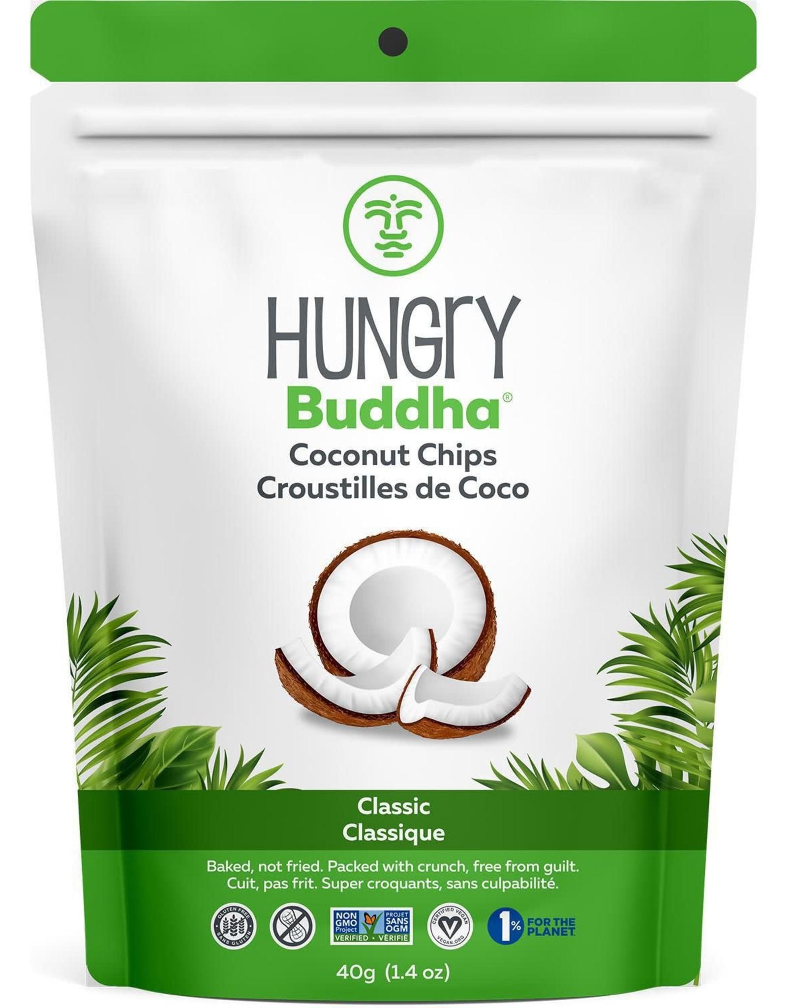 Hungry Buddha Hungry Buddha - Coconut Chips, Classic (40g)