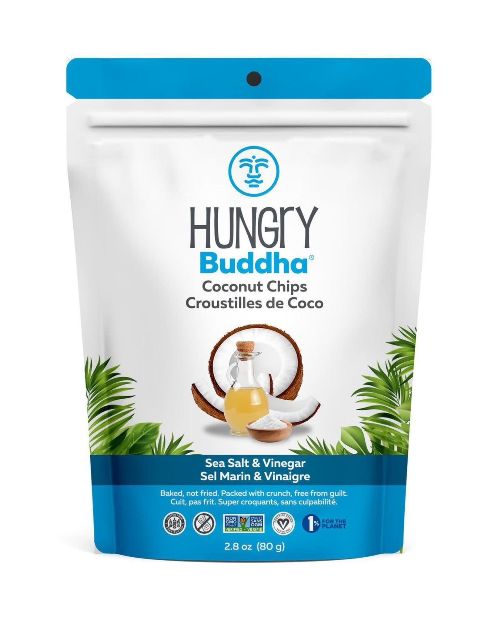 Hungry Buddha Hungry Buddha - Coconut Chips, Salt & Vinegar (80g)