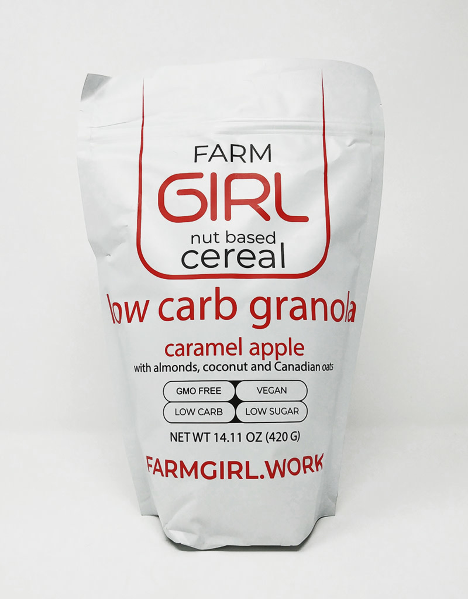 Farm Girl Farm Girl - Low Carb Granola, Caramel Apple (420g)