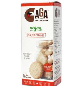 Gaga for Gluten-Free Gaga for Gluten-Free - Vegan Salted Caramel Shortbread Cookies