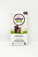 Alter Eco Alter Eco - Grass Fed Milk Chocolate Bar, Classic