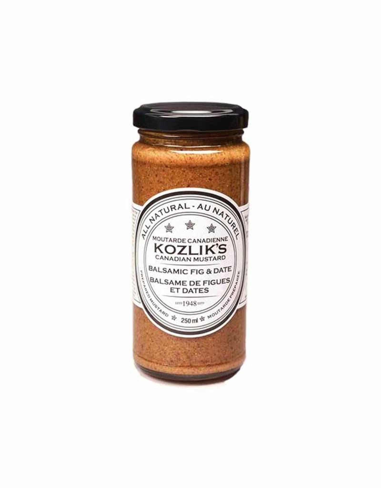 Kozliks Kozliks - Mustard, Balsamic Figs & Dates