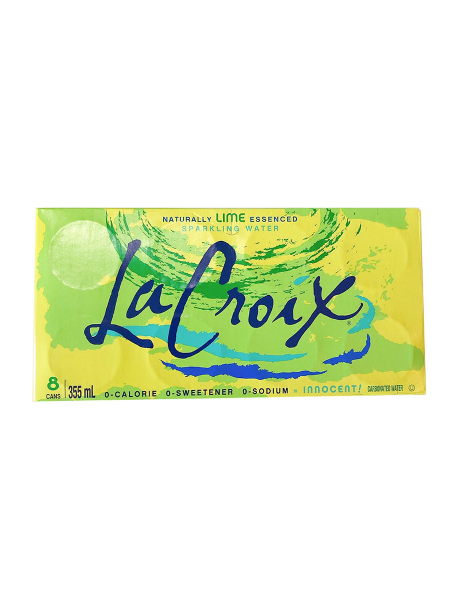 La Croix La Croix - Sparkling Water, Lime (8 Pack)