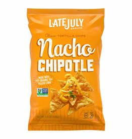 Late July Late July - Clasico Tortilla Chips, Nacho Chipotle (156g)