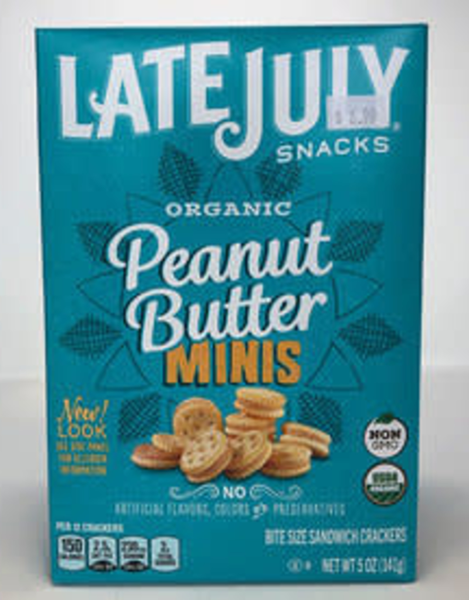 Late July Late July - Crackers, Mini Peanut Butter (140g)