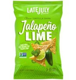 Late July Late July - Clasico Tortilla Chips, Jalapeno Lime (156g)