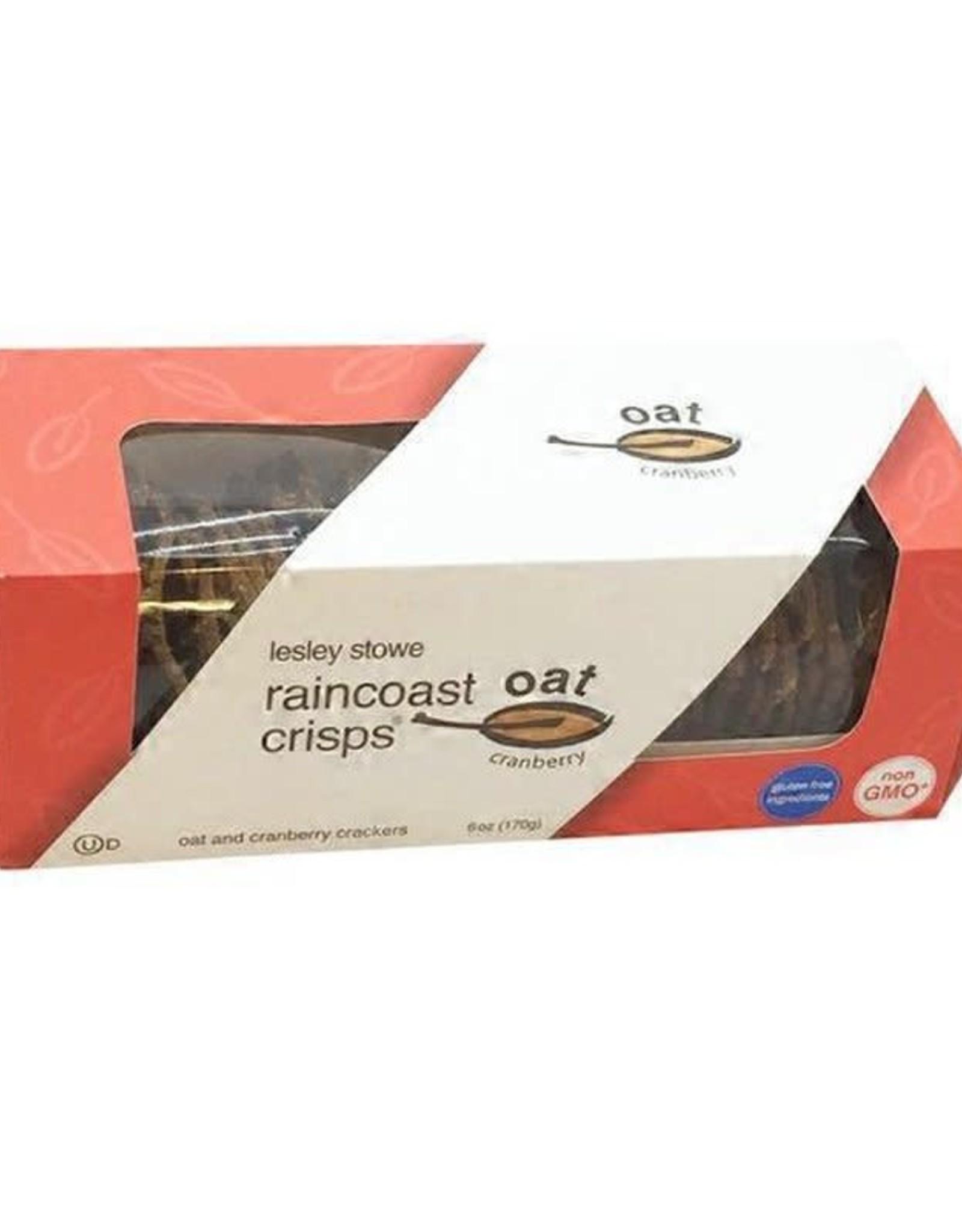 Lesley Stowe Lesley Stowe - Raincoast Crisps, Oat Cranberry (150g)
