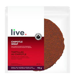 Live Organic Live Organic - Wraps, Chipotle