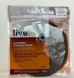 Live Organic Live Organic - Wraps, Sundried Tomato