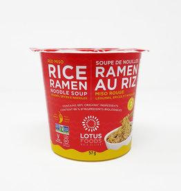 Lotus Foods Lotus Foods - Ramen Soup Cup, Red Miso (57g)