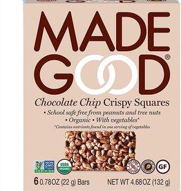 Made Good Made Good - Crispy Squares, Chocolate Chip (Box of 6)