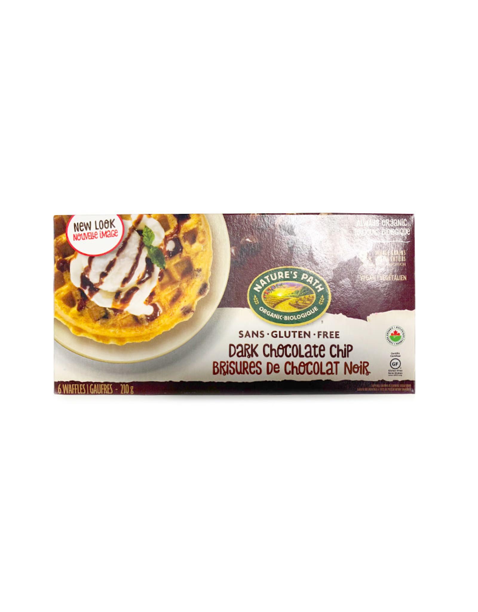 Natures Path Natures Path - Frozen Waffles, Dark Chocolate Chip (210g)