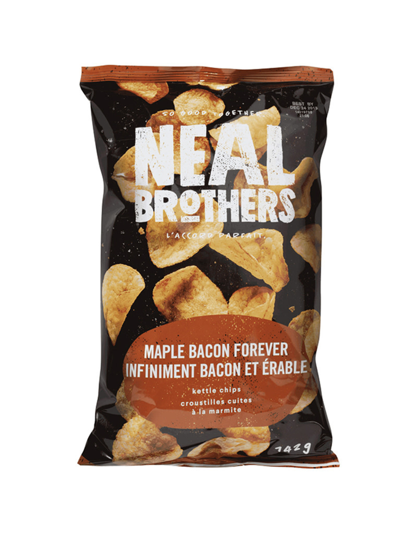 Neal Brothers Neal Brothers - Kettle Chips, Maple Bacon Forever (142g)