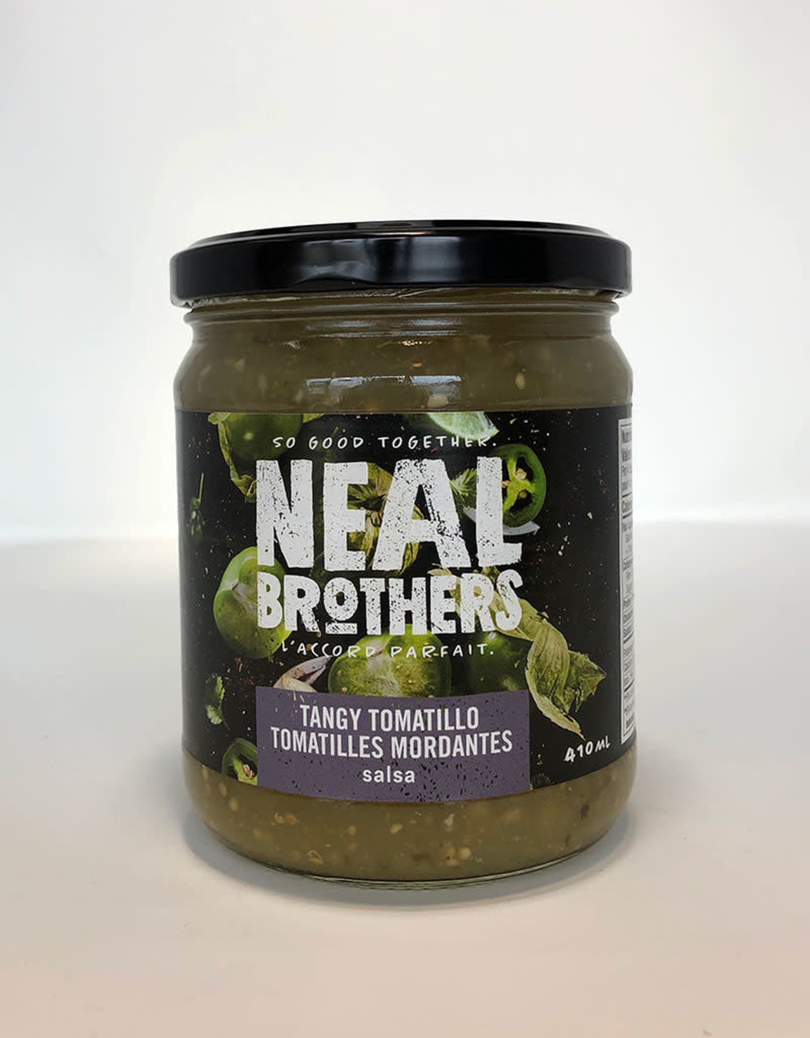 Neal Brothers Neal Brothers - Natural Salsa, Tangy Tomatillo (410ml)