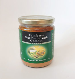 Nuts to You NTY - Rainforest Butter, Nut Butter with Coconut (250g)