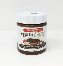 NutiLight NutiLight - Hazelnut Spread, Dark Chocolate (312g)
