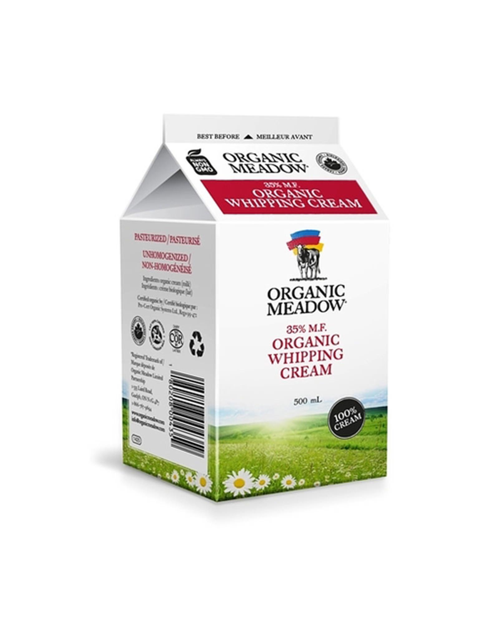 Organic Meadow Organic Meadow - 35% Whipping Cream