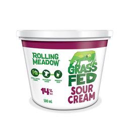 Rolling Meadow Rolling Meadow - Grass Fed Sour Cream 500ml