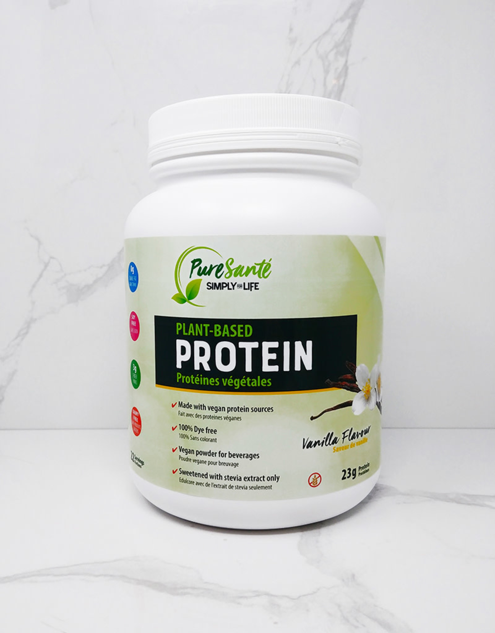 Pure Sante SFL - Plant-Based Protein Powder, Vanilla (850g)