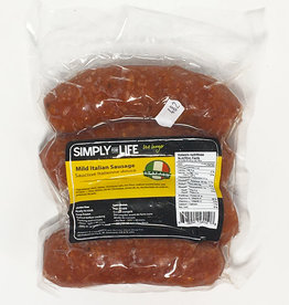 Simply For Life SFL - Sausages, Mild Italian