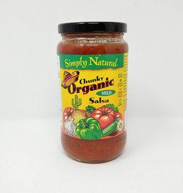 Simply Natural Simply Natural - Salsa, Chunky Mild (470ml)