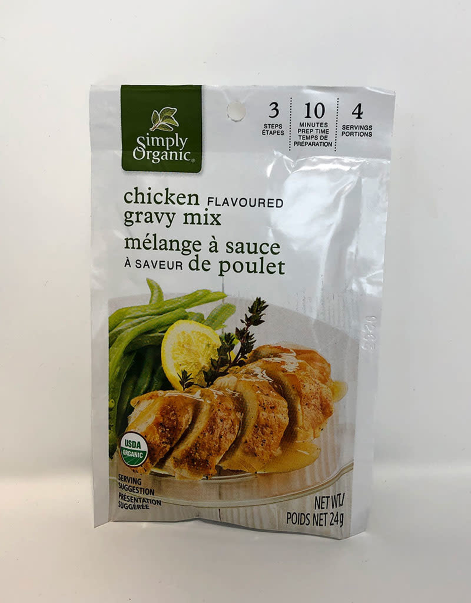 Simply Organic Simply Organic - Gravy Mix, Roasted Chicken Flavoured