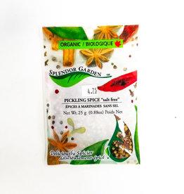 Splendor Garden Splendor Garden - Pickling Spice Salt Free