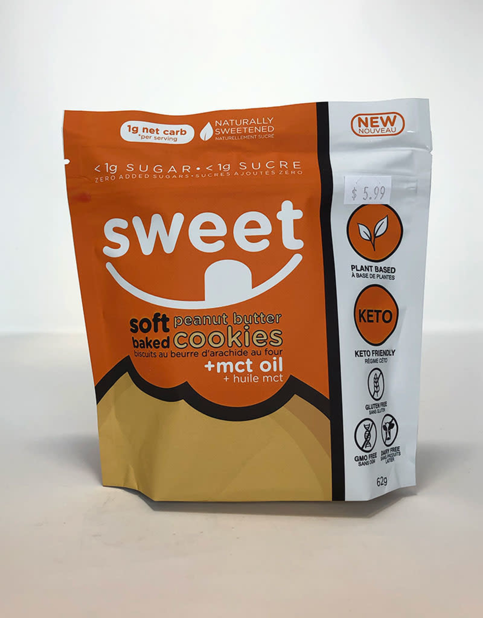 Sweet Nutrition Sweet Nutrition - Soft Baked Cookies, Peanut Butter