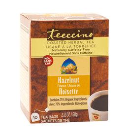 Teeccino Teeccino - Herbal Tea, Hazelnut (10 Bags)