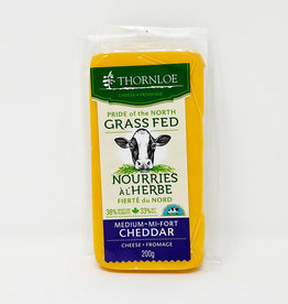 Thornloe Thornloe - Grass Fed Cheese, Medium Cheddar