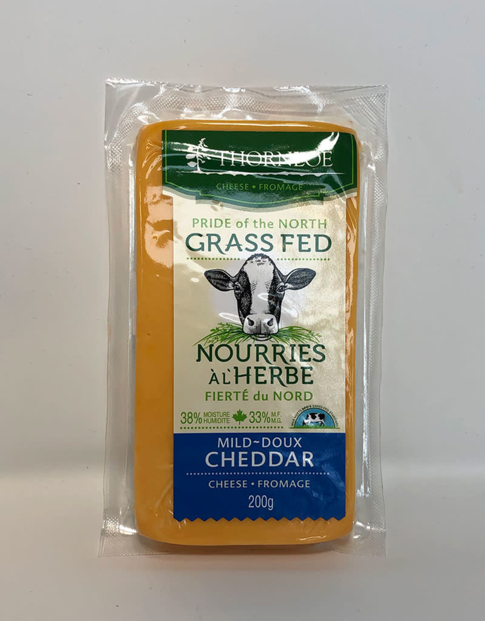 Thornloe Thornloe - Grass Fed Cheese, Mild Cheddar
