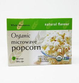Whole Alternatives WA - Organic Microwave Popcorn - Natural (GREEN)