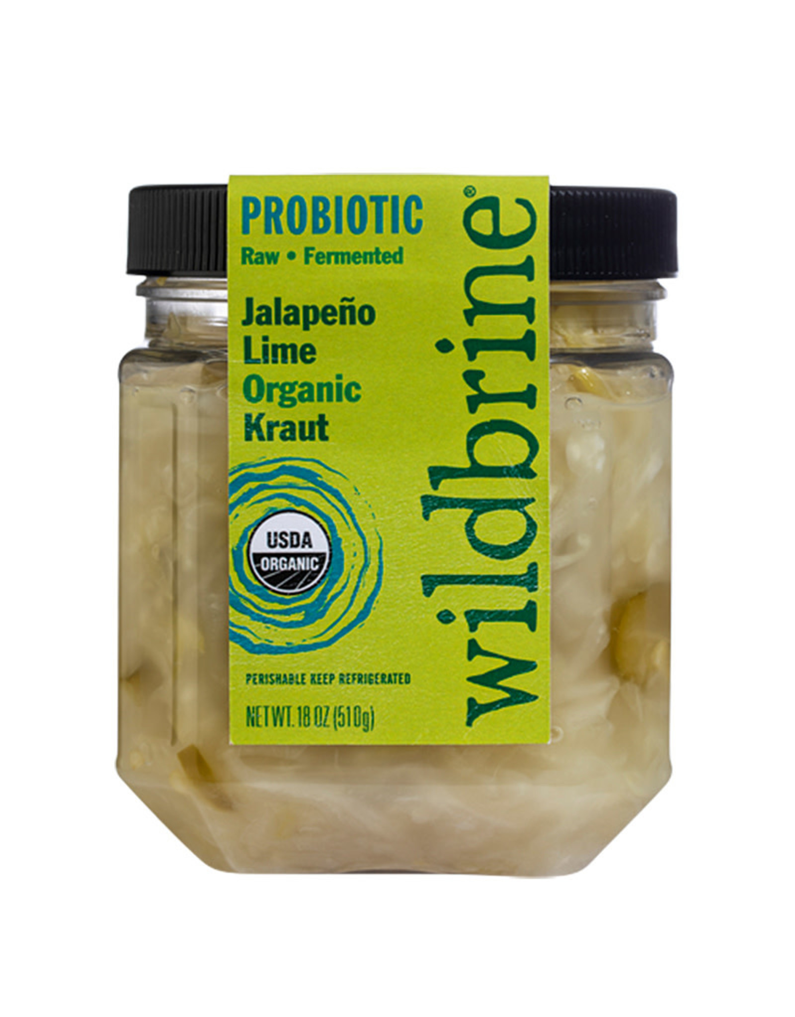 Wildbrine Wildbrine - Organic Kraut, Jalapeno Lime (500ml)