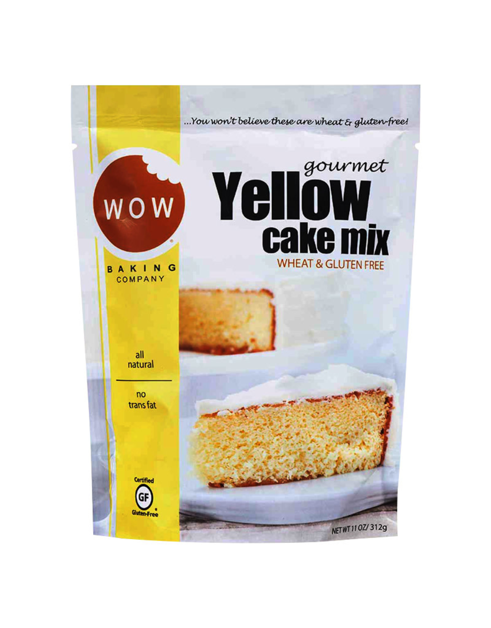 Wow Cake Wow Cake Mix - Yellow (312g)
