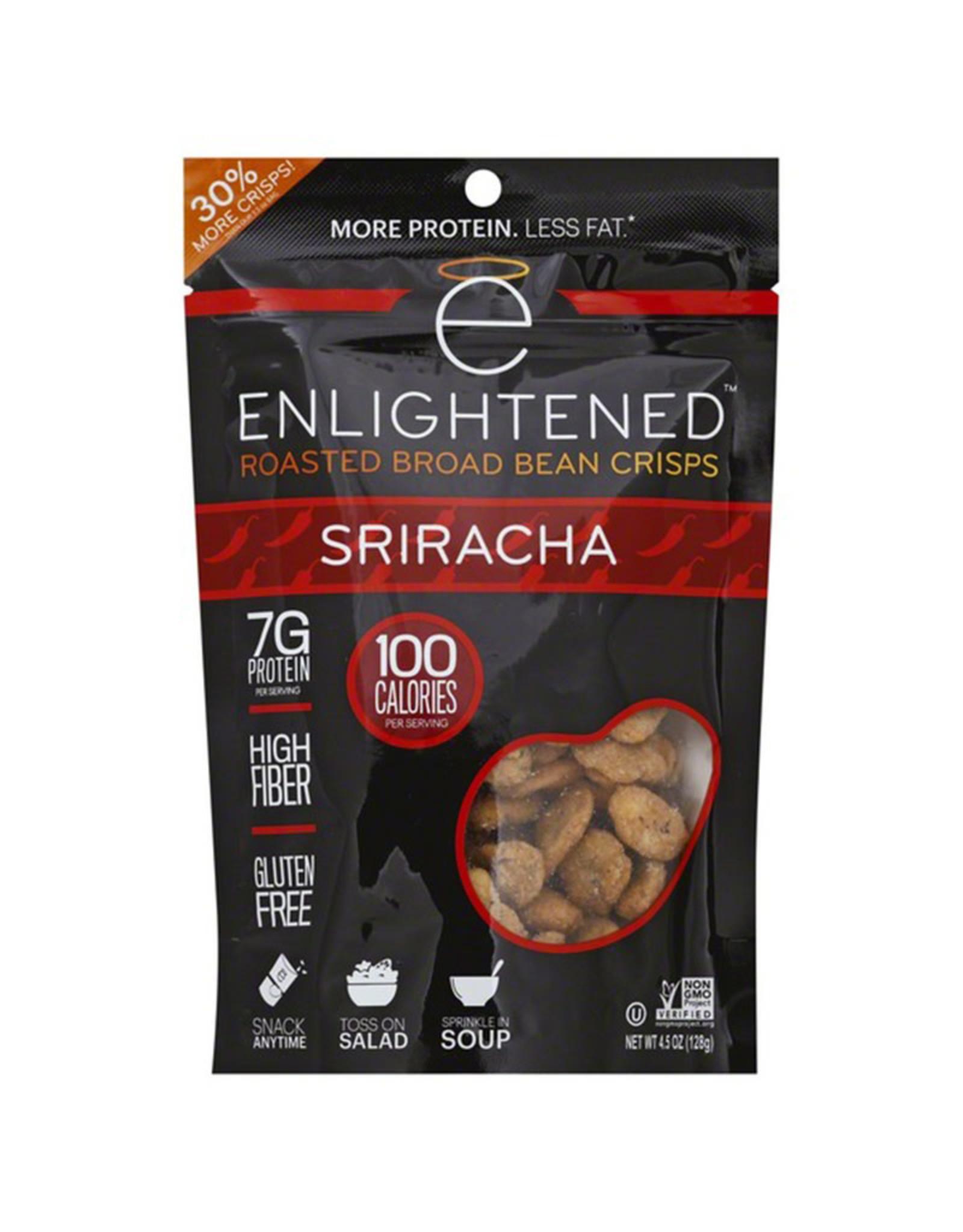 Enlightened Enlightened - Roasted Broad Bean Crisps, Sriracha