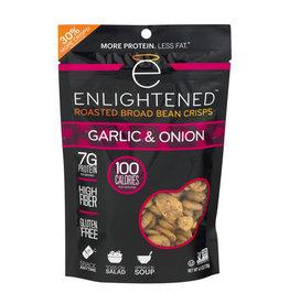 Enlightened Enlightened - Roasted Broad Bean Crisps, Garlic & Onion