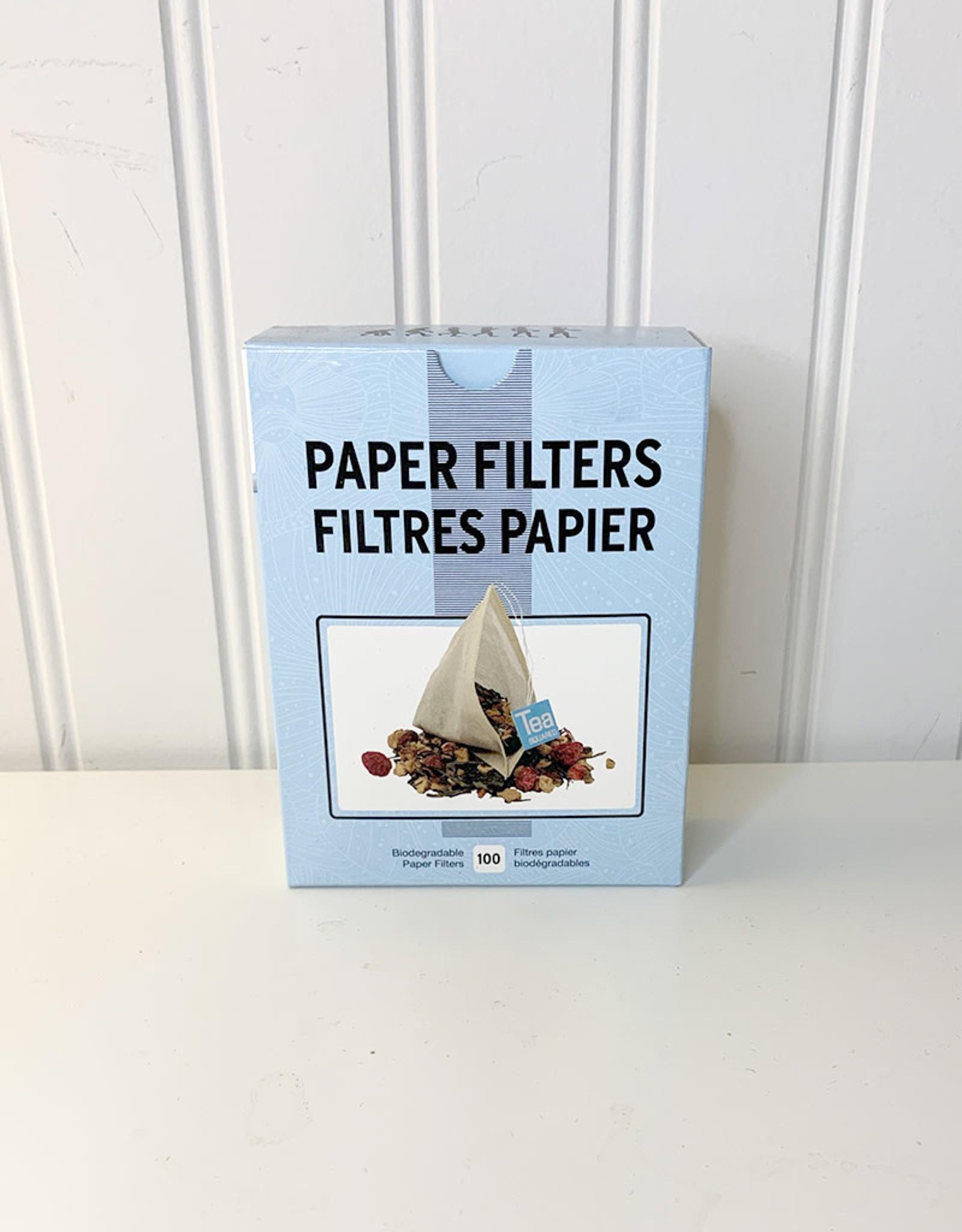 Tea Squared Tea Squared - Biodegradable Paper Filters (100pk)