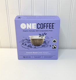 One Coffee OneCoffee - Compostable Coffee Pods, French Roast (132g)