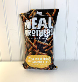 Neal Brothers Neal Brothers - Pretzels, Honey Wheat Braids (240g)
