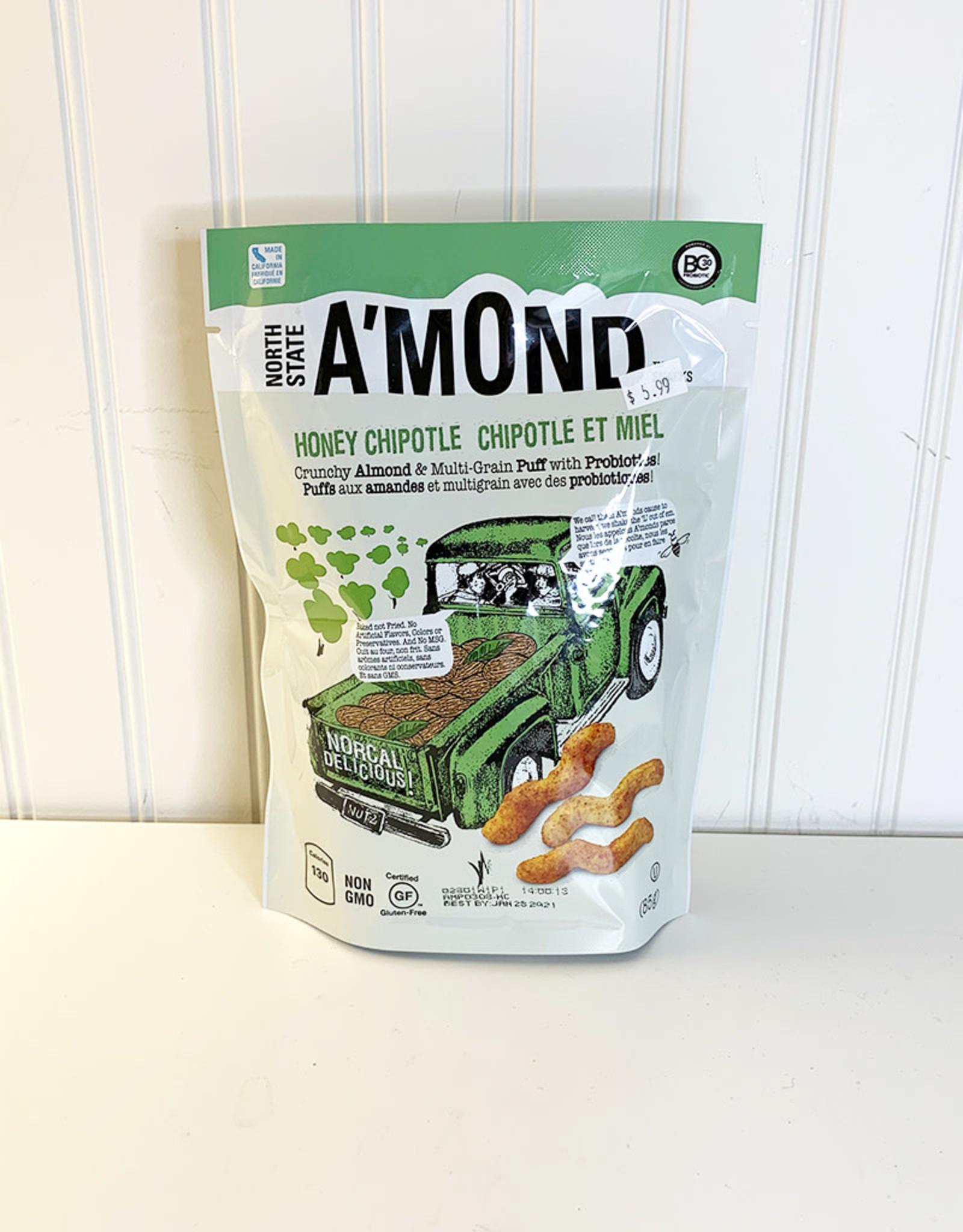 AMond Snacks AMond Snacks - Snack Puffs, Honey Chipotle (85g)