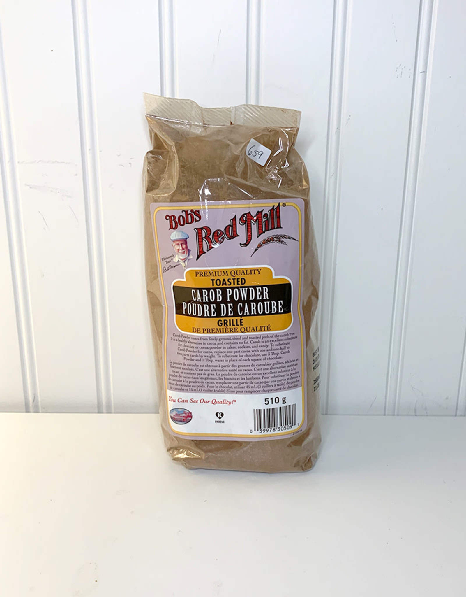 Bobs Red Mill Bobs Red Mill - Toasted Carob Powder (510g)