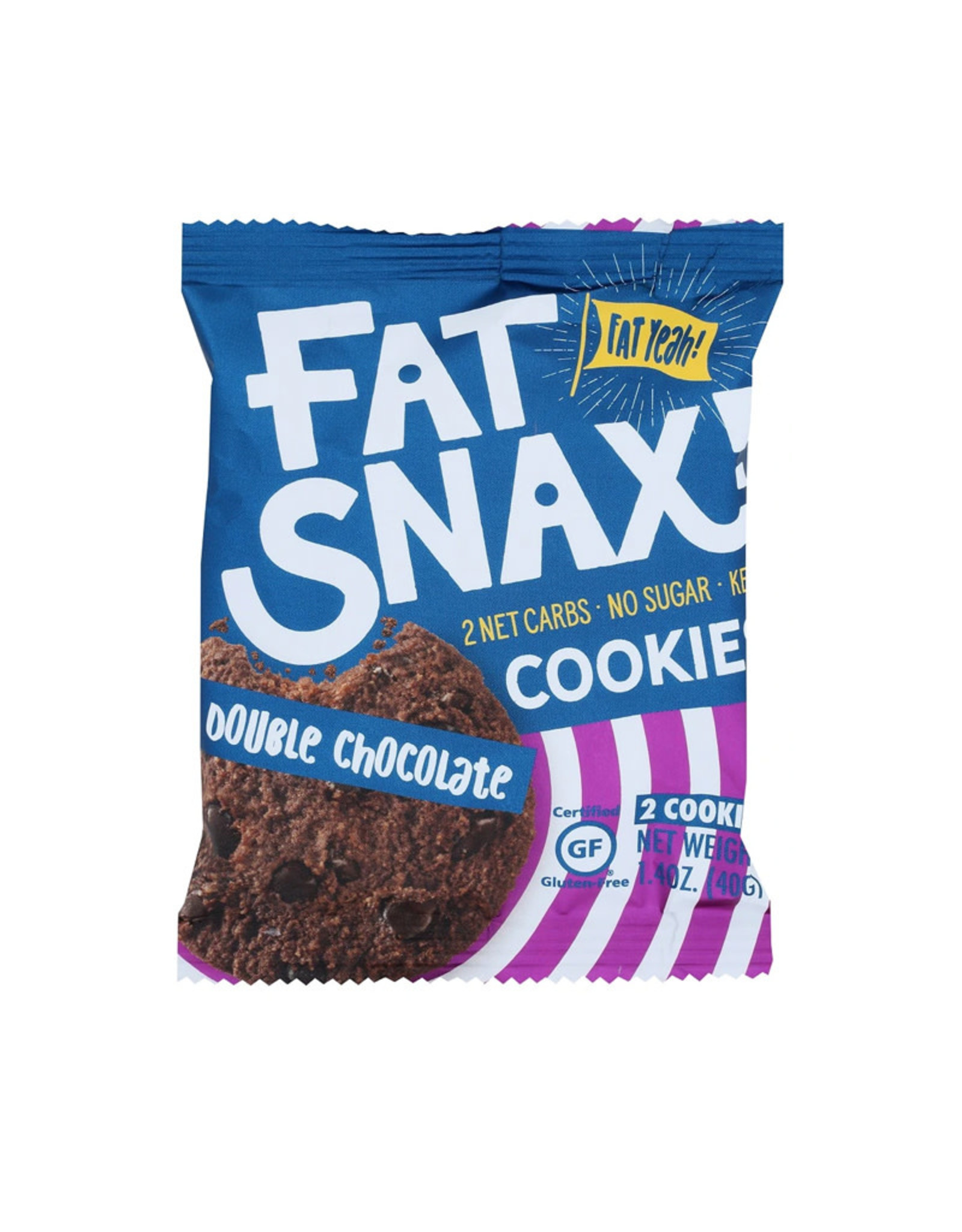Fatsnax Fatsnax - Cookie, Double Chocolate Chip