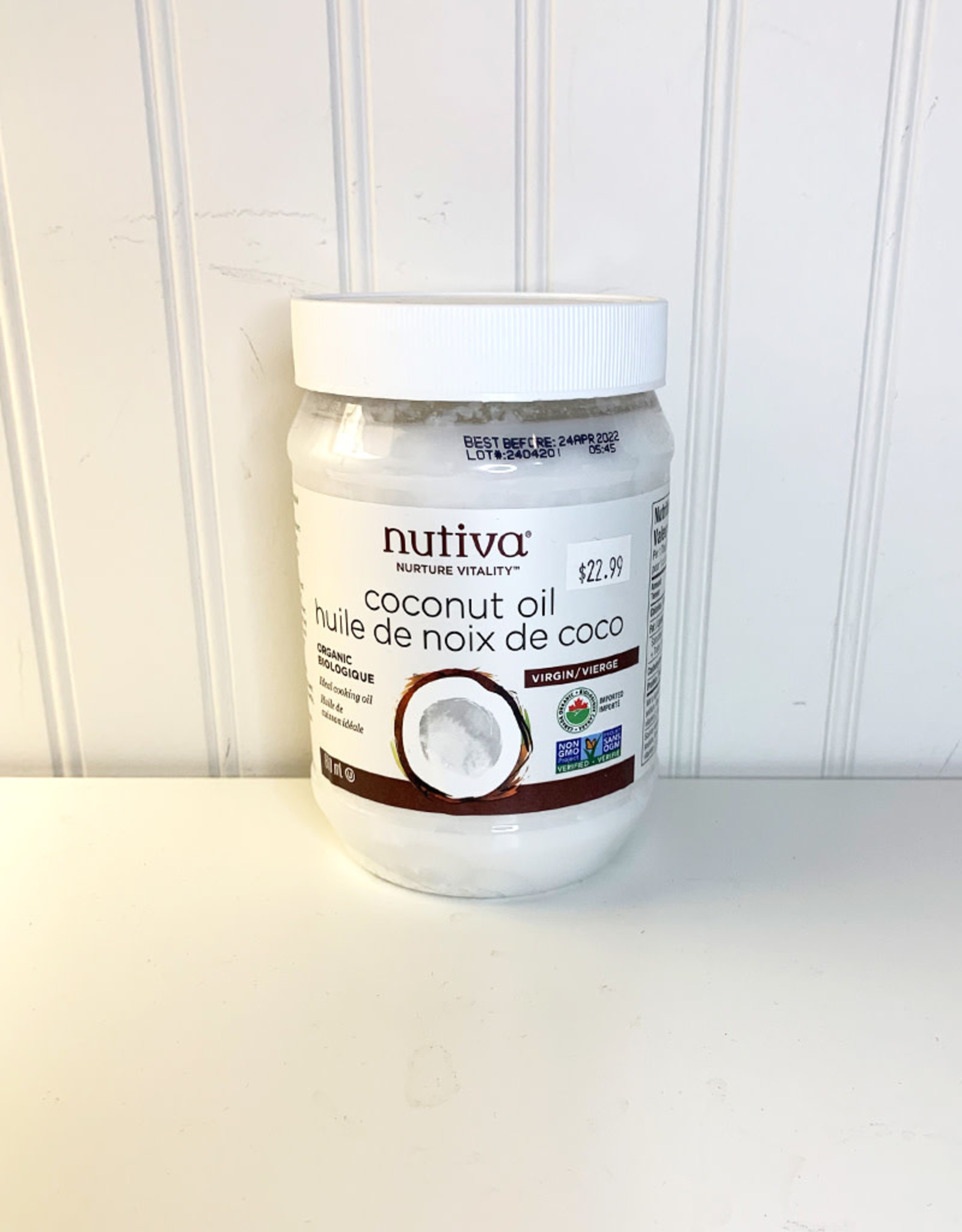 Nutiva Nutiva - Organic Coconut Oil (860ml)