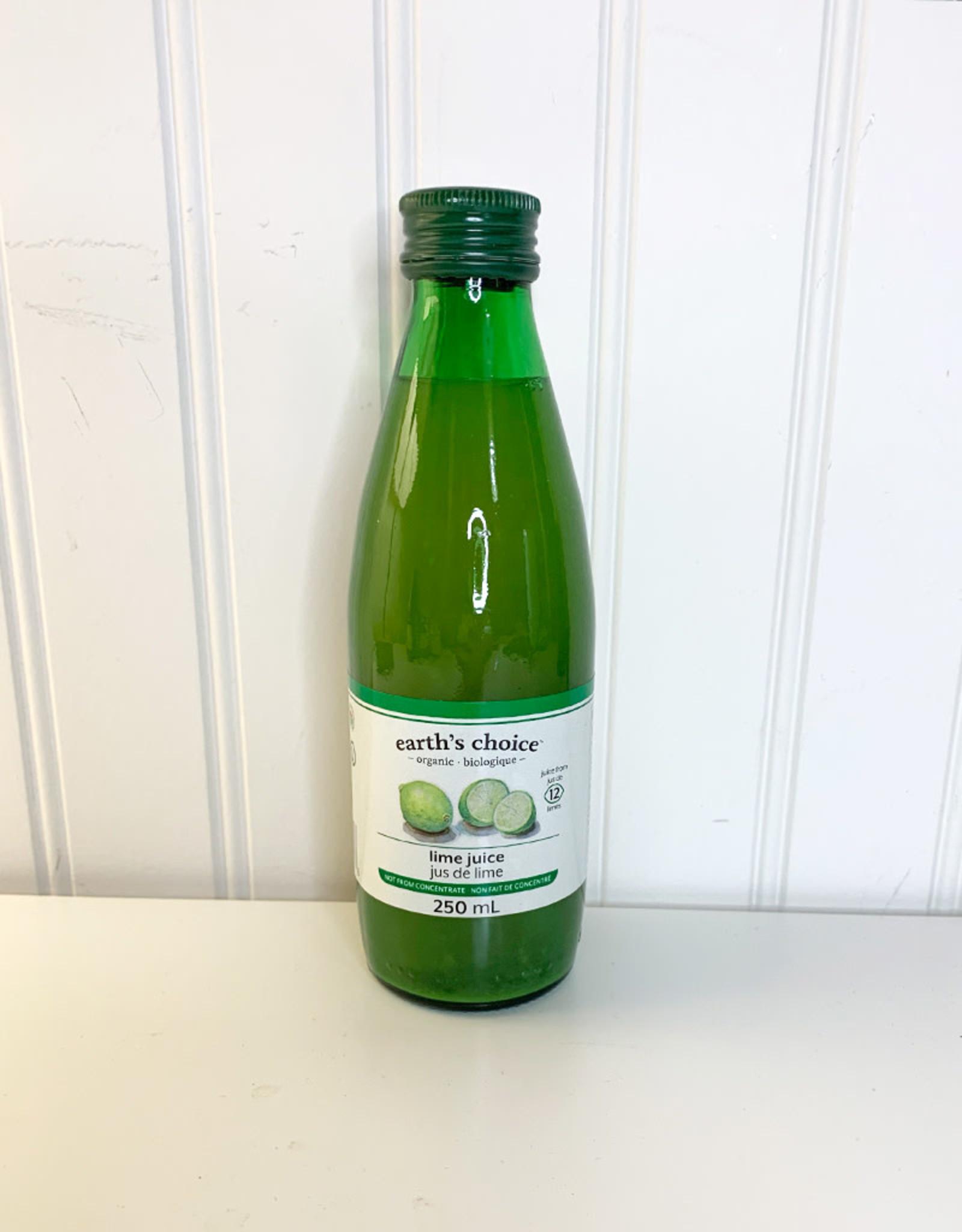 Earths Choice Earths Choice - Organic Lime Juice (250ml)