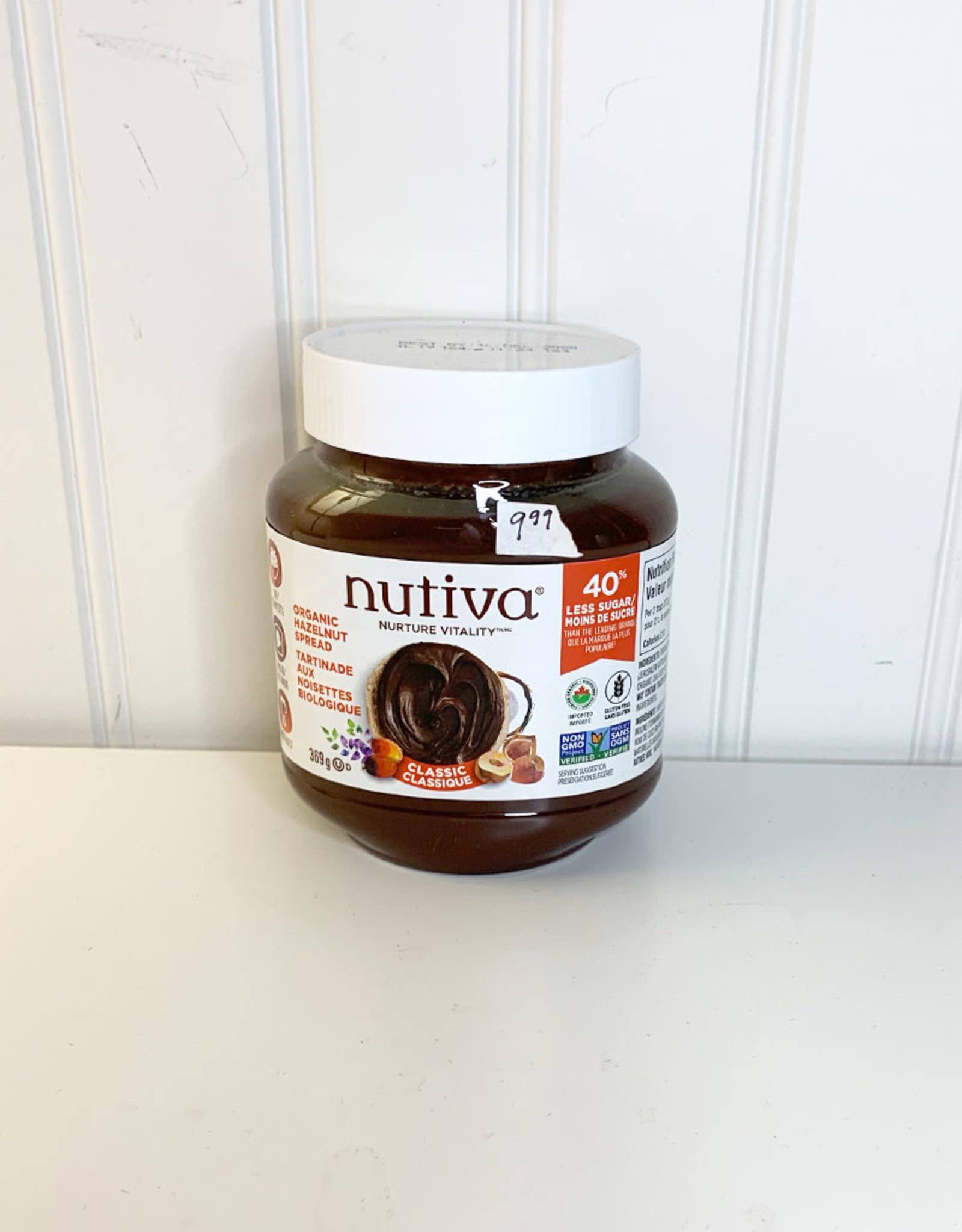 Nutiva Nutiva - Hazelnut Spread, Classic (369g)