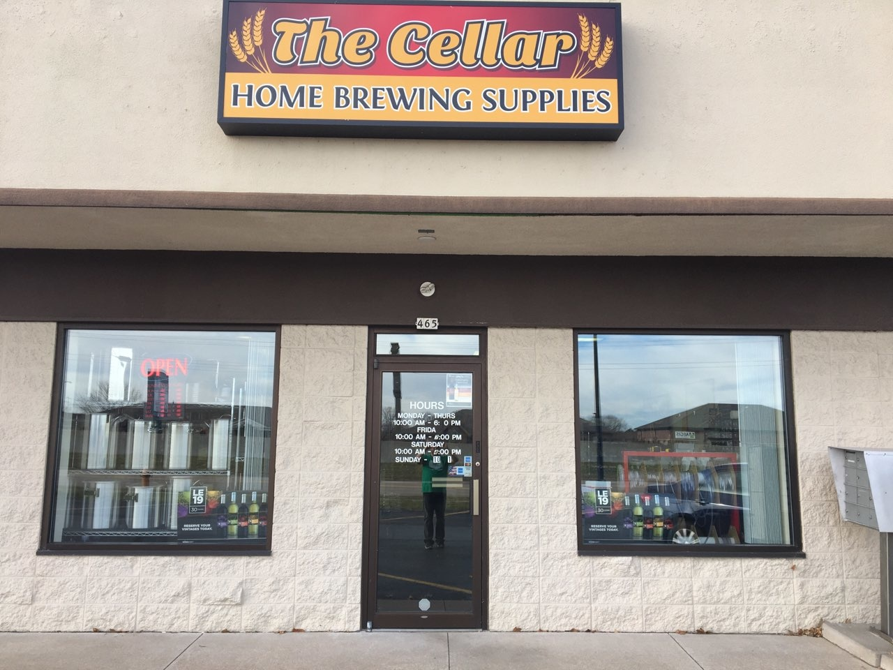 Welcome to The Cellar online home brew shop