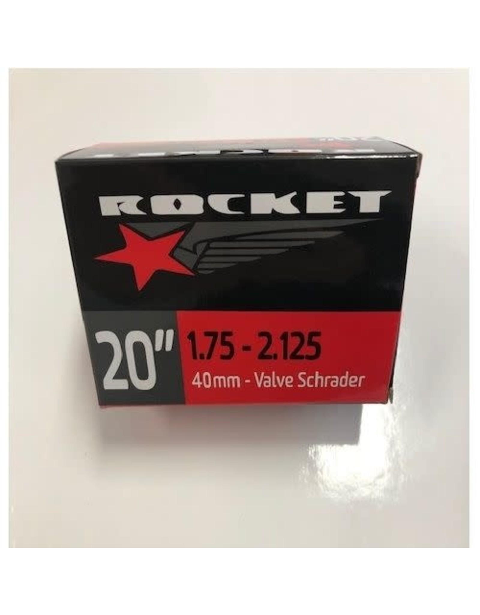 Rocket Tube 20' x  1.75/2.125 Schrader Valve